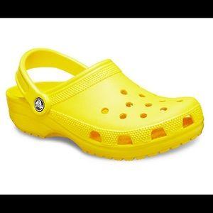 Classic Clog Yellow Croc